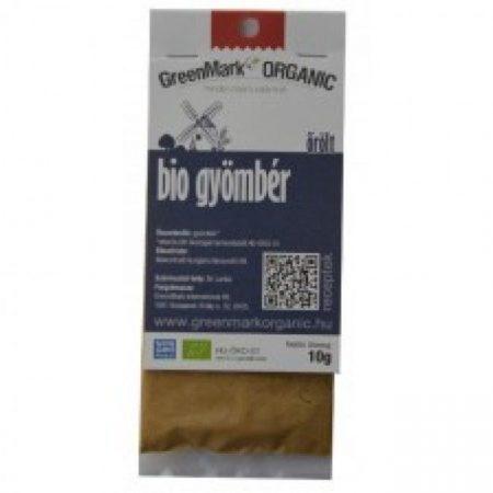 Greenmark Bio őrölt gyömbér 10g - Étel-ital, Fűszer, ételízesítő, Fűszer