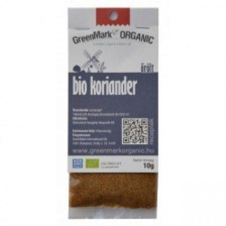 Greenmark Bio őrölt koriander 10g - Étel-ital, Fűszer, ételízesítő, Fűszer