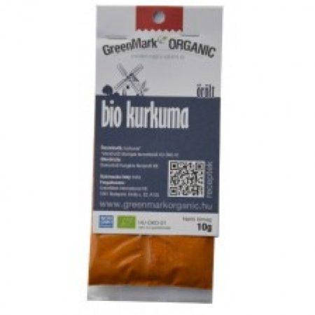 Greenmark Bio őrölt kurkuma 10g - Étel-ital, Fűszer, ételízesítő, Fűszer