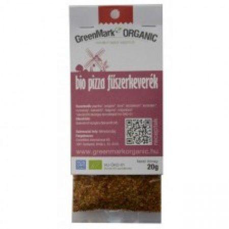 Greenmark Bio pizza fűszerkeverék 20g - Étel-ital, Fűszer, ételízesítő, Fűszer