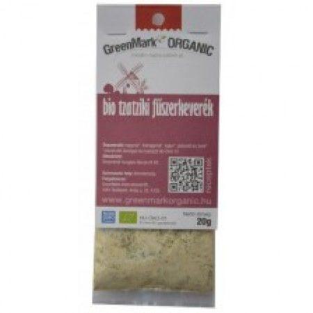 Greenmark Bio tzatziki fűszerkeverék 20g - Étel-ital, Fűszer, ételízesítő, Fűszer
