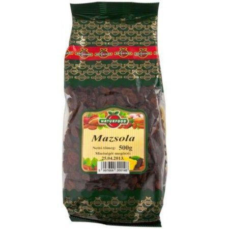 Naturfood Mazsola 500g - Étel-ital, Szárított, aszalt gyümölcs