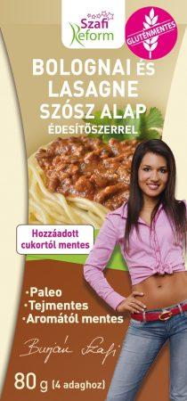 Szafi Fitt Bolognai és lasagne szósz alap 80g