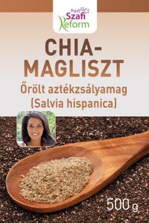 Szafi Fitt Chia mag liszt 500g - Étel-ital, Superfood, funkcionális élelmiszer
