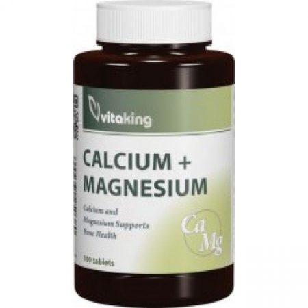 Vitaking Calcium (500mg)+Magnézium(250mg) kapszula 100db
