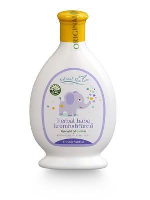 Herbal Baba krémhabfürdő 250 ml - Baba-mama, Baba és gyermekápolás, Fürdető, szappan, sampon