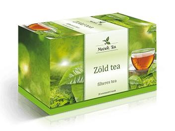 Mecsek Zöld tea 20x2g - Gyógynövény, tea, Filteres tea