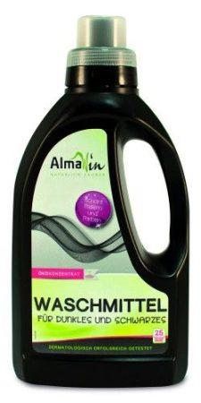 AlmaWin Öko folyékony mosószer koncentrátum sötét és fekete ruhákhoz 750 ml - Háztartás, Mosószer
