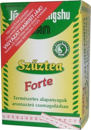 Dr. Chen Szűztea forte 15 filter - Gyógynövény, tea, Teakaverék