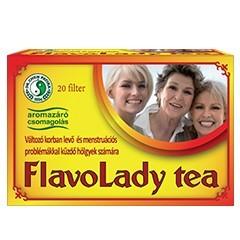 Dr. Chen Flavolady filteres tea 20db - Gyógynövény, tea, Filteres tea