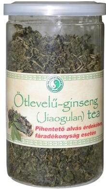 Dr. Chen Ötlevelű-ginseng (Jiaogulan) tea 35 g - Gyógynövény, tea, Szálas gyógynövény, tea