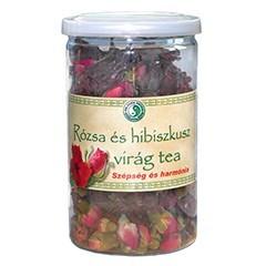 Dr. Chen Rózsa és hibiszkusz virág tea 50 g - Gyógynövény, tea, Szálas gyógynövény, tea