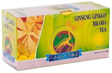 Dr. Chen Ginseng-Ginkgo-Zöld tea 20x3 g - Gyógynövény, tea, Teakaverék