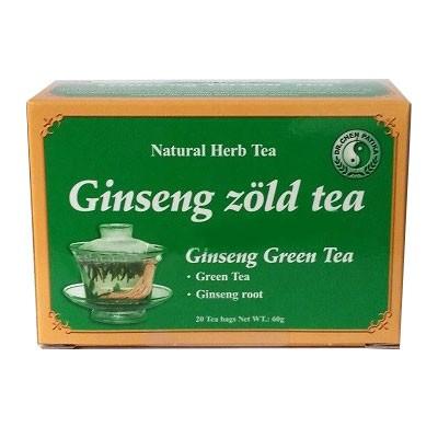 Dr. Chen Ginseng zöld tea 20x3 g - Gyógynövény, tea, Filteres tea