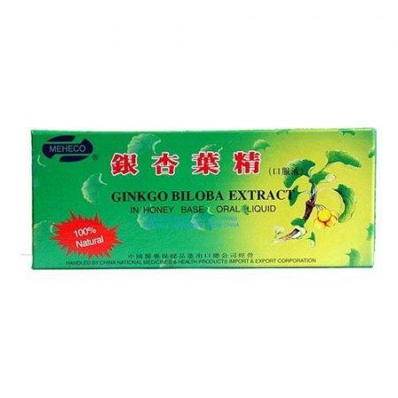 Dr. Chen Ginkgo biloba ampulla 10x10 ml - Étrend-kiegészítő, vitamin, Szív és érrendszer