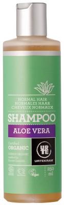 Urtekram Bio sampon aloe verával 250 ml - Kozmetikum, bőrápolás, intim termék, Testápolás, Hajápolás