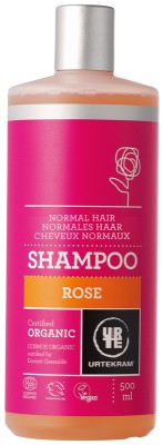 Urtekram Bio sampon rózsával 500 ml - Kozmetikum, bőrápolás, intim termék, Testápolás, Hajápolás