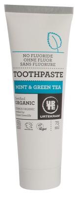 Urtekram Bio fogkrém zöldteával és mentával  75 ml