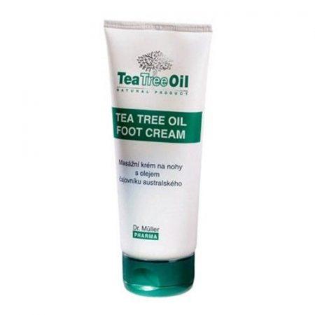 Dr. Müller Teafaolajos lábkrém  150 ml - Kozmetikum, bőrápolás, intim termék, Testápolás, Lábápolás