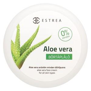Estrea Aloe vera bőrtápláló arckrém 80 ml - Kozmetikum, bőrápolás, intim termék, Arcápolás, Arckrém