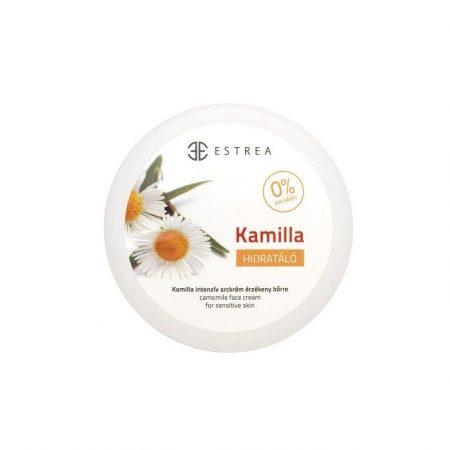 Estrea Kamillás hidratáló arckrém 80 ml - Kozmetikum, bőrápolás, intim termék, Arcápolás, Arckrém
