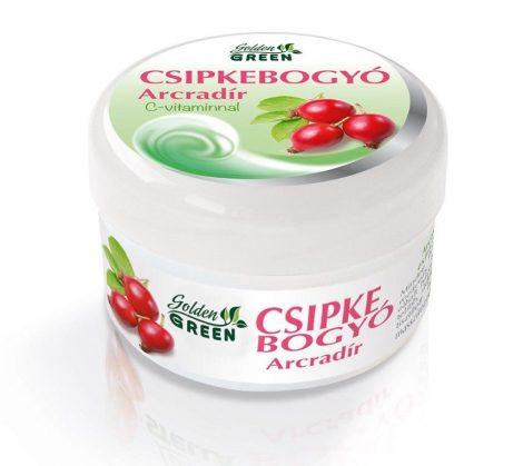 Golden Green Csipkebogyó arcradír 100 ml - Kozmetikum, bőrápolás, intim termék, Arcápolás, Arcradír