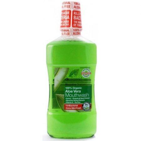 Dr. Organic Bio Aloe Vera szájvíz 500 ml