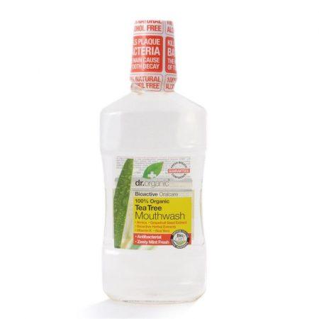 Dr. Organic Bio Teafa szájvíz 500 ml