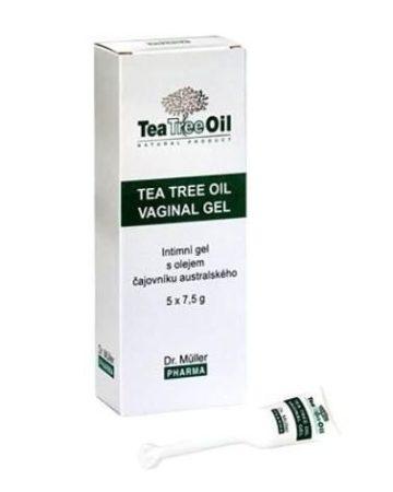 Dr. Müller Teafaolajos intimhigéniai gél 7x7,5 g