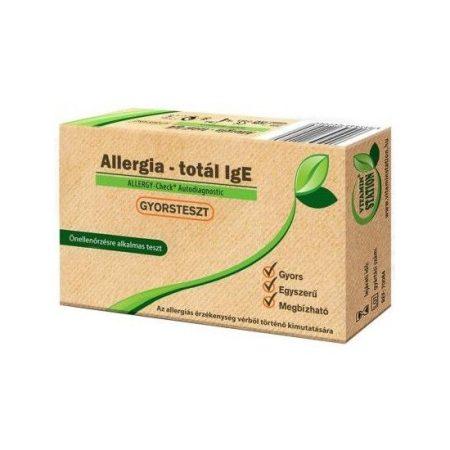 Vitamin Station Allergia gyorsteszt 1 db - Gyorsteszt, készülék, diagnosztikai eszköz, Gyorsteszt