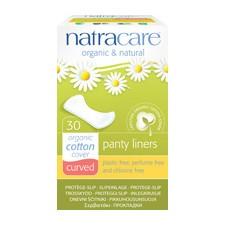 Natracare Bio tisztasági betét ívelt 30 db