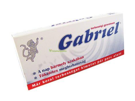 Gabriel Terhességi teszt 1 db - Gyorsteszt, készülék, diagnosztikai eszköz, Gyorsteszt
