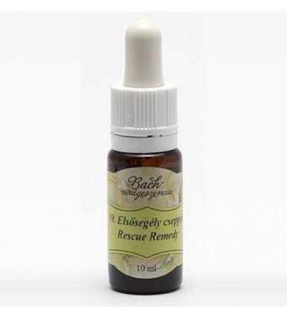 Bach Virágeszencia Elsősegély 10 ml - Alternatív gyógymód, Bach virágterápia