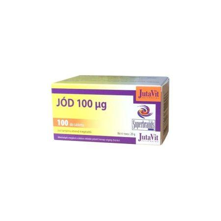 Jutavit Jód 100 µg 100 db - Étrend-kiegészítő, vitamin, Antioxidáns, nyomelem, ásványi anyag
