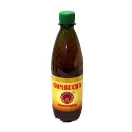 KOMBUCHA Tea koncentrátum 500 ml - Étrend-kiegészítő, vitamin, Súlykontroll, Méregtelenítés