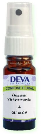 DEVA 4. Oltalom összetett virágeszencia spray 10 ml - Alternatív gyógymód, Bach virágterápia