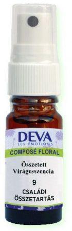 DEVA 9. Családi összetartás összetett virágeszencia spray 10 ml
