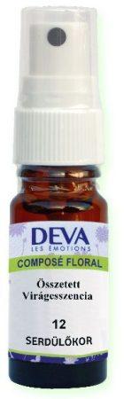 DEVA 12. Serdülőkor összetett virágeszencia spray 10 ml - Alternatív gyógymód, Bach virágterápia