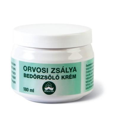 Bioextra Orvosi zsálya bedörzsölőkrém 180 ml