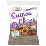 Eat Real Quinoa chips napon szárított paradicsom és sült fokhagyma ízesítéssel 30 g