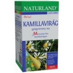 Naturland Kamillavirág tea 20x1,6 g - Gyógynövény, tea, Filteres tea