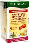 Naturland Májvédő detoxikáló tea 25x1,5 g  - Gyógynövény, tea, Teakaverék