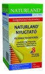 Naturland Nyugtató tea 25x1,5 g - Gyógynövény, tea, Teakaverék