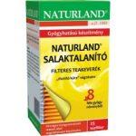 Naturland Salaktalanító teakeverék 25x1 g - Gyógynövény, tea, Teakaverék