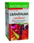 Naturland Gránátalma-csipkebogyó gyümölcstea 20x2 g - Gyógynövény, tea, Teakaverék