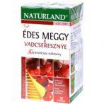 Naturland Édes meggy és vadcseresznye teakeverék 20x2 g  - Gyógynövény, tea, Teakaverék