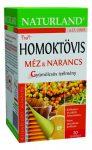 Naturland Homoktövis tea mézzel, naranccsal 20x2 g - Gyógynövény, tea, Teakaverék