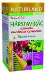 Naturland Hársfavirág echinacea-gránátalma teakeverék csipkebogyóval  20x1,2 g