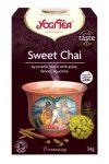 Yogi Bio Édes chai tea 17x2 g  - Gyógynövény, tea, Filteres tea
