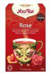 Yogi Bio Rózsa tea 17x1,8 g - Gyógynövény, tea, Filteres tea